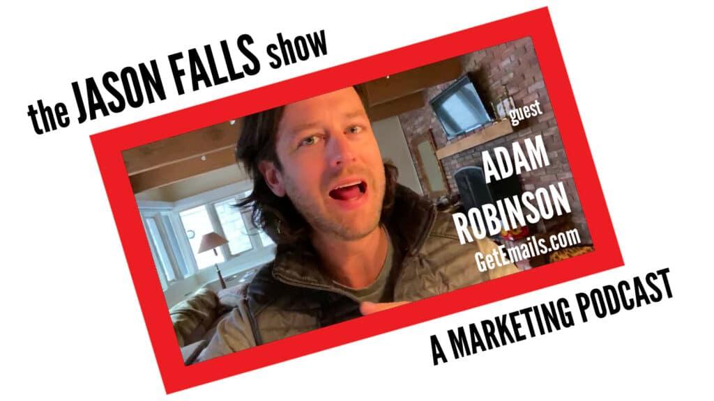 Adam Robinson with GetEmails.com